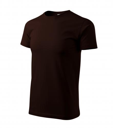 Heavy New tričko unisex kávová