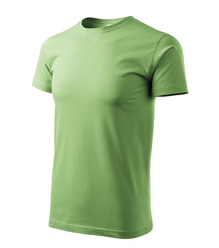 Heavy New tričko unisex trávově zelená