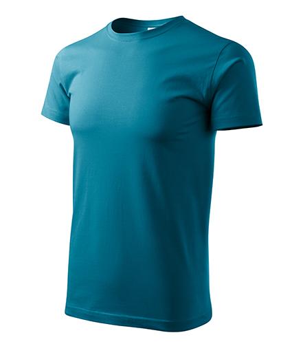 Heavy New tričko unisex tmavý tyrkys