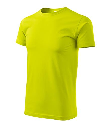 Heavy New tričko unisex limetková