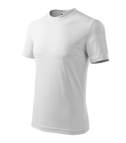 Heavy tričko unisex bílá