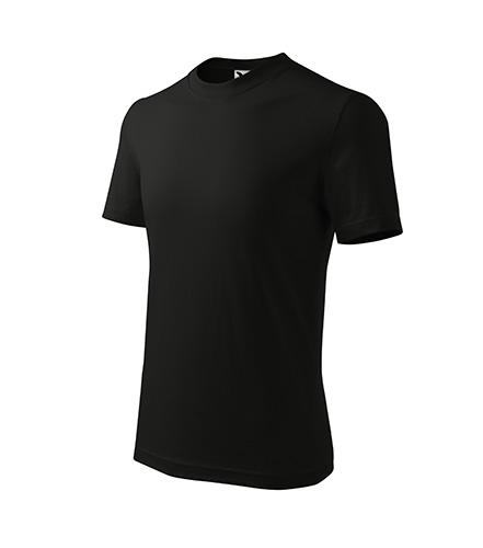 Basic tričko dětské černá
