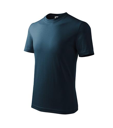 Basic tričko dětské námořní modrá