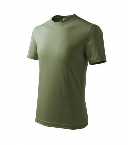Basic tričko dětské khaki