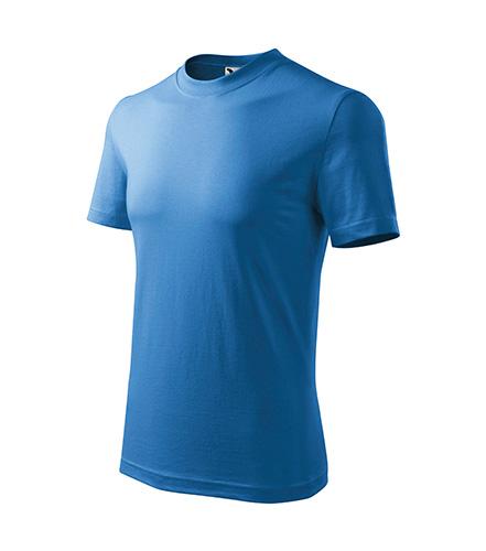 Basic tričko dětské azurově modrá