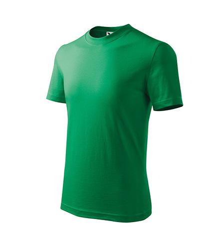 Basic tričko dětské středně zelená