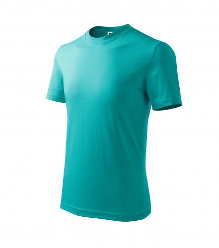 Basic tričko dětské emerald
