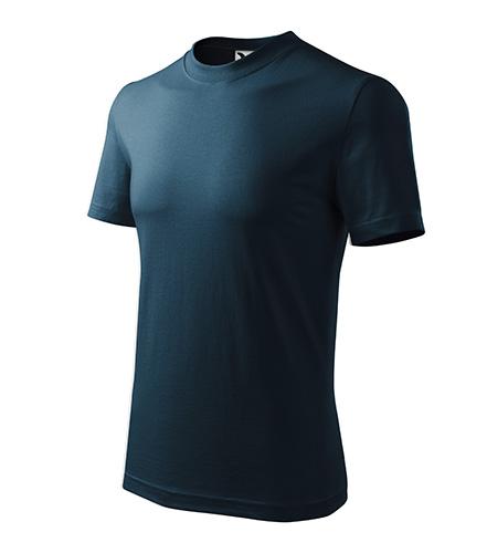 Heavy tričko unisex námořní modrá