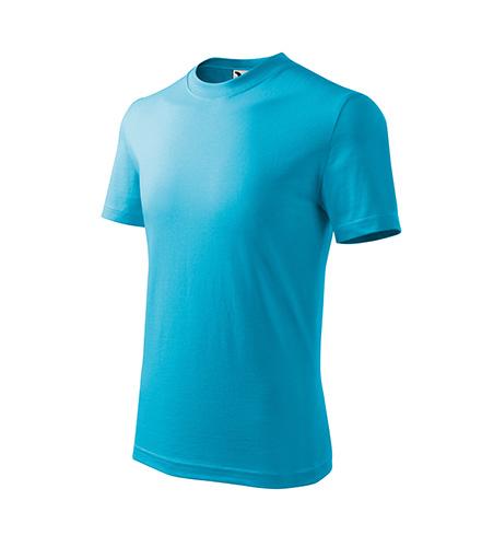 Basic tričko dětské tyrkysová