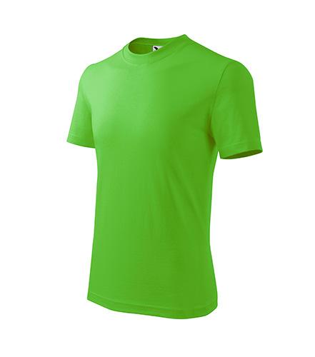 Basic tričko dětské apple green