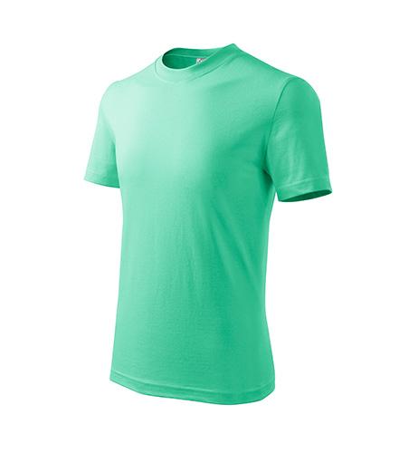 Basic tričko dětské mátová