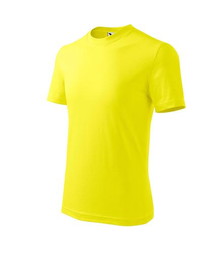 Basic tričko dětské citronová
