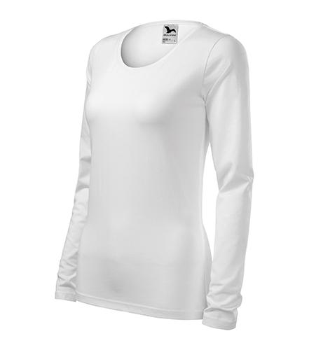 Slim triko dámské bílá