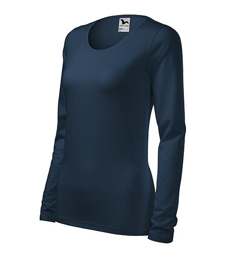 Slim triko dámské námořní modrá