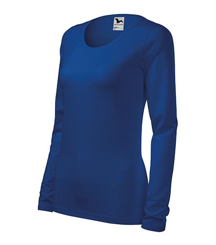 Slim triko dámské královská modrá