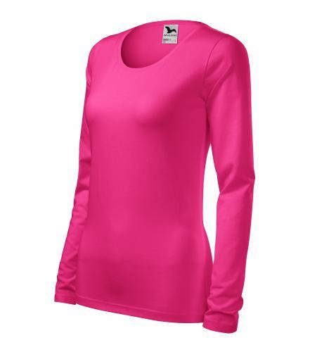 Slim triko dámské purpurová
