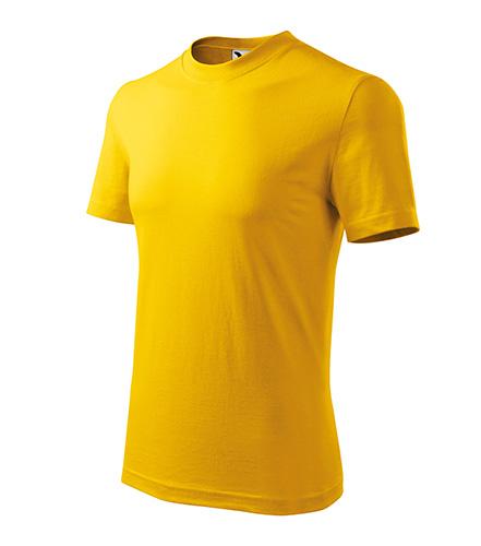 Heavy tričko unisex žlutá