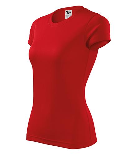 Fantasy tričko dámské červená
