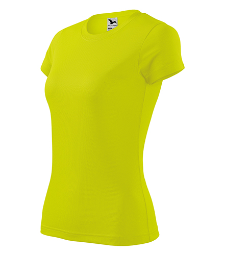 Fantasy tričko dámské neon yellow