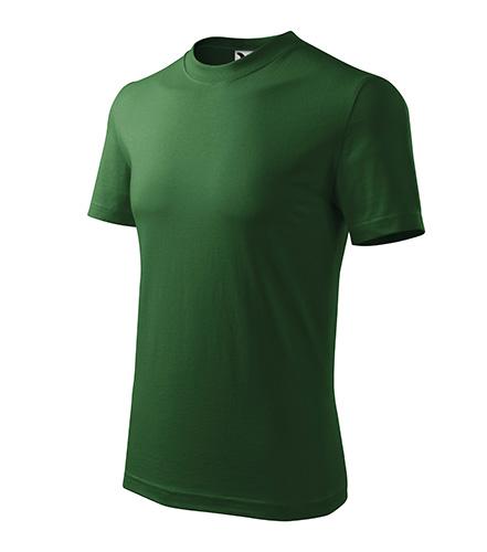 Heavy tričko unisex lahvově zelená