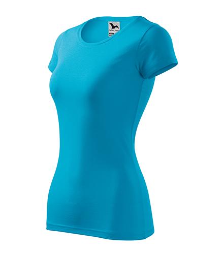 Glance tričko dámské tyrkysová
