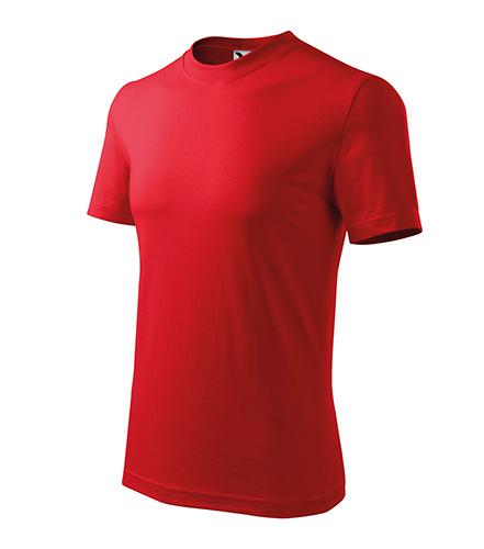 Heavy tričko unisex červená