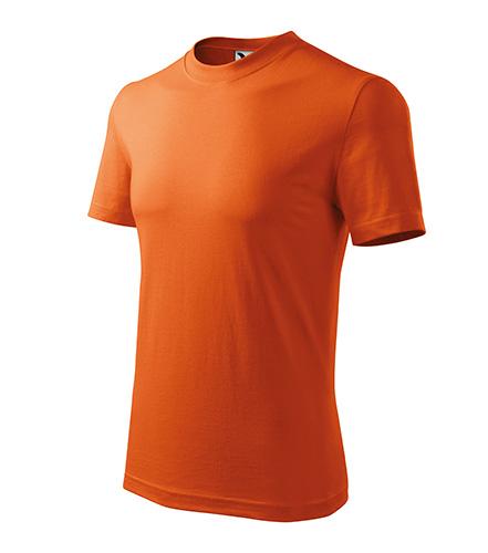 Heavy tričko unisex oranžová