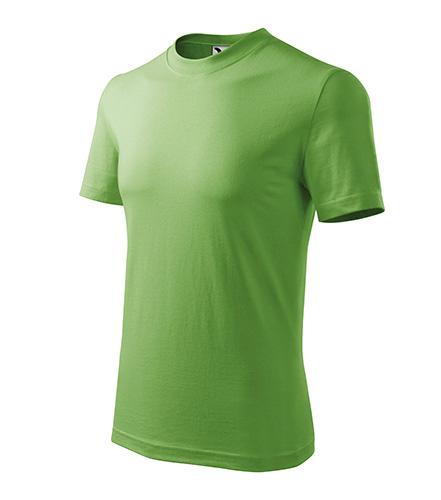 Heavy tričko unisex trávově zelená
