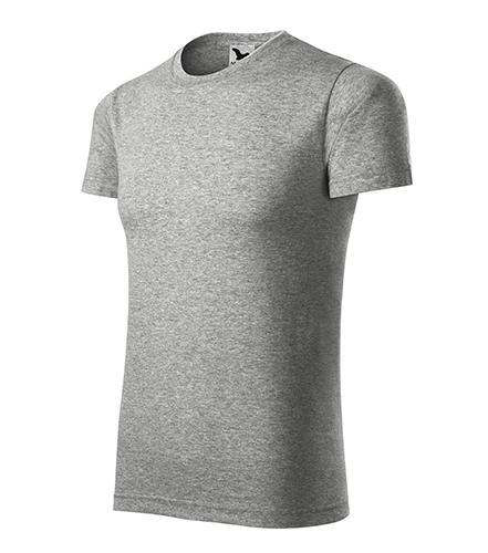Element tričko unisex tmavě šedý melír