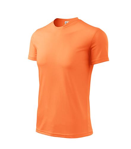 Fantasy tričko dětské neon mandarine
