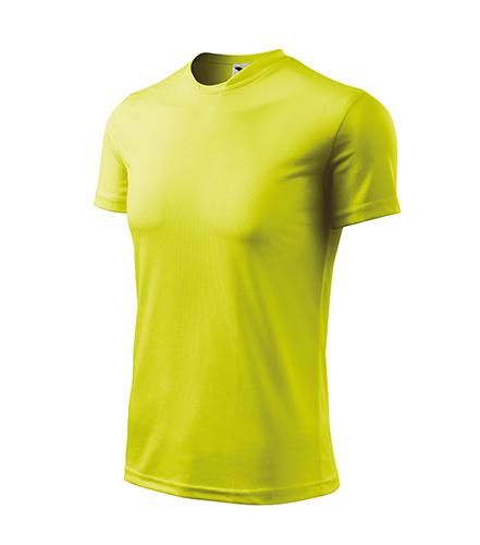 Fantasy tričko dětské neon yellow