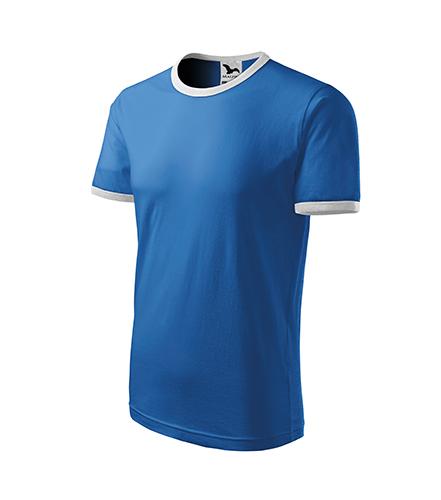 Infinity tričko dětské azurově modrá