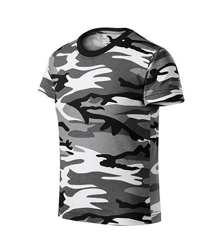 Camouflage tričko dětské camouflage gray