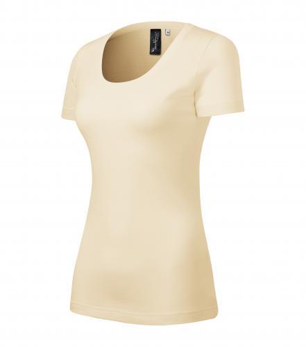 Merino Rise tričko dámské mandlová