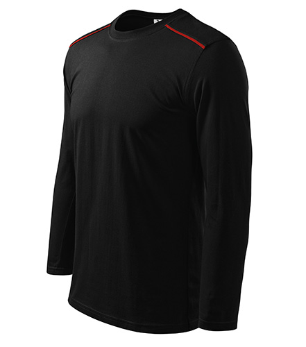 Long Sleeve triko unisex černá