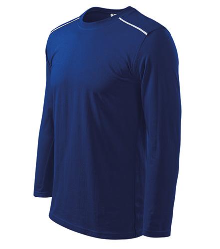 Long Sleeve triko unisex královská modrá