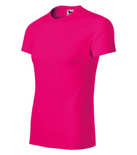 Star tričko unisex neon pink