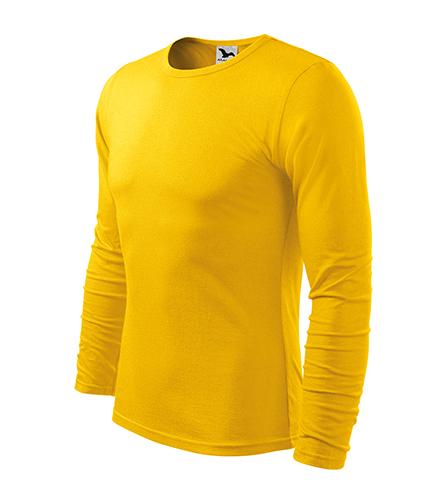 Fit-T LS triko pánské žlutá