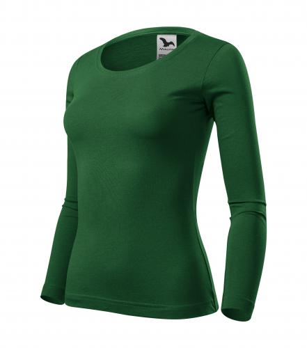 Fit-T LS triko dámské lahvově zelená