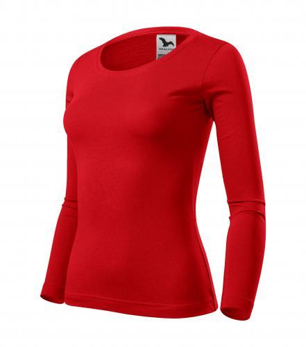 Fit-T LS triko dámské červená
