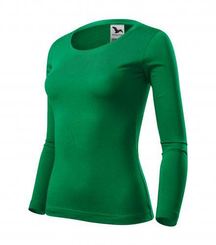Fit-T LS triko dámské středně zelená