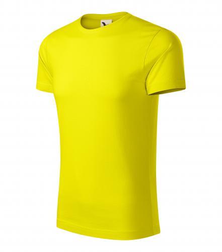 Origin tričko pánské citronová