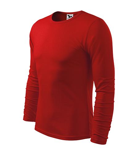 Fit-T LS triko pánské červená
