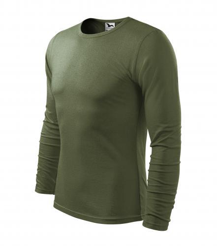 Fit-T LS triko pánské khaki