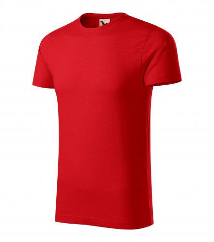 Native tričko pánské červená