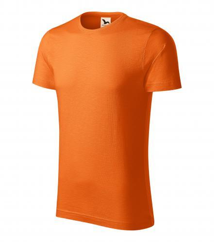 Native tričko pánské oranžová