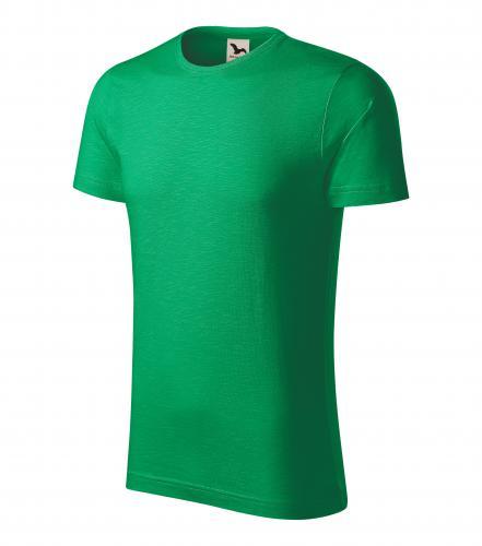 Native tričko pánské středně zelená