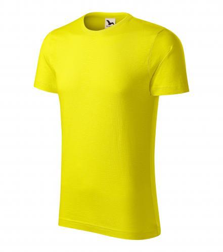 Native tričko pánské citronová