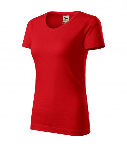 Native tričko dámské červená