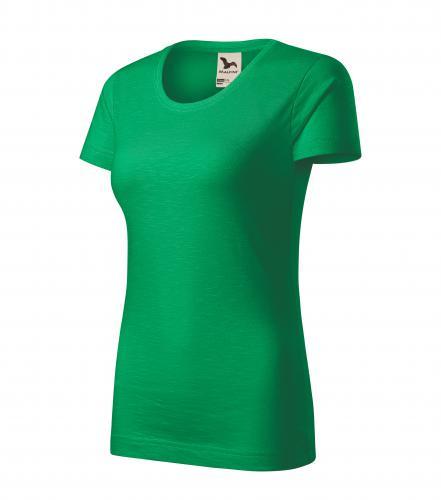 Native tričko dámské středně zelená